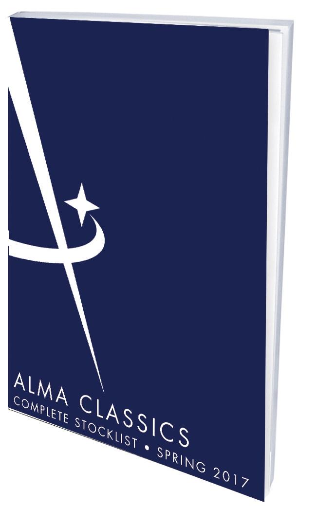 Alma Classics Stocklist 2017